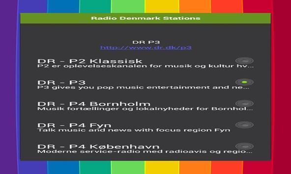 Radio Denmark Stations apk screenshot