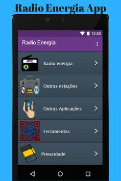 Radio Energia App poster