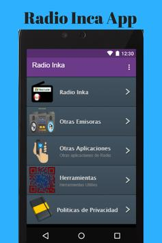 Radio Inca App apk screenshot