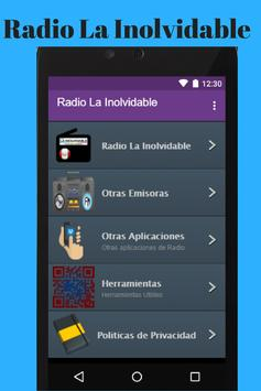 Radio La Inolvidable App poster