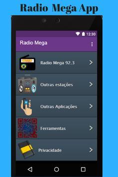 Radio Mega App poster