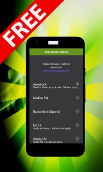 Radio Morocco Stations poster
