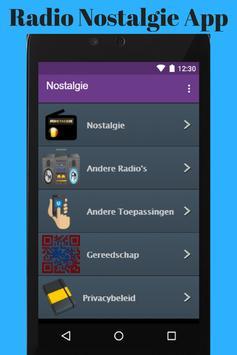 Radio Nostalgie App poster