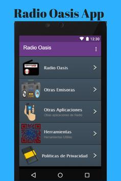 Radio Oasis poster