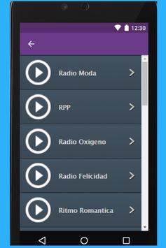 Radio Oasis screenshot 1