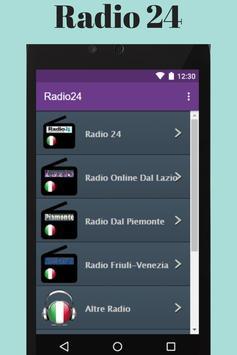 Radio 24 screenshot 3