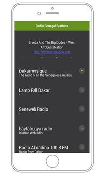 Radio Senegal Stations poster