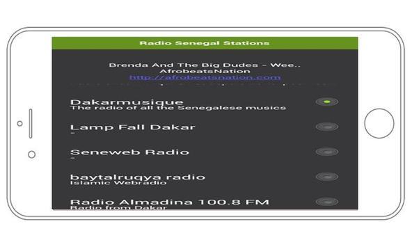 Radio Senegal Stations apk screenshot