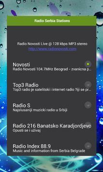 Radio Serbia Stations poster