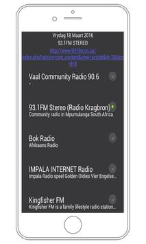 Radio South Africa Stations poster