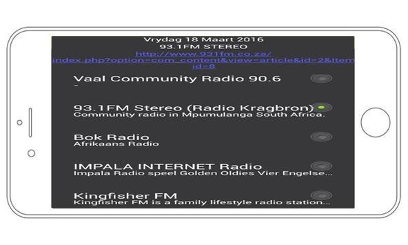 Radio South Africa Stations apk screenshot