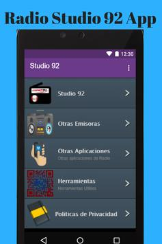Radio Studio 92 App poster