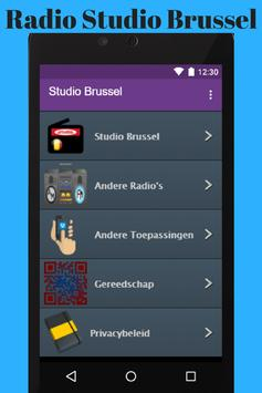Radio Studio Brussel App apk screenshot