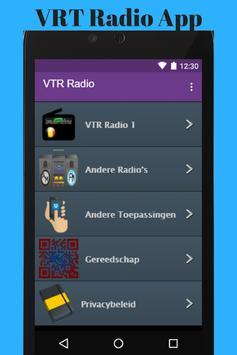 VRT Radio App poster