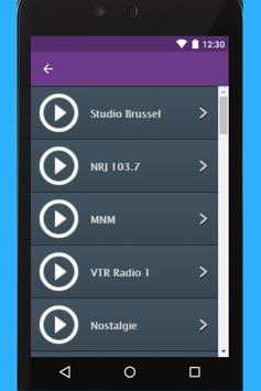 VRT Radio App screenshot 1