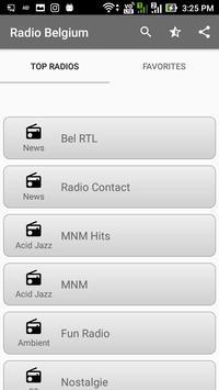 Radio Belgium All FM Online apk screenshot