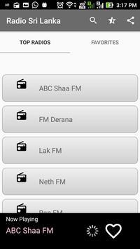 Sri Lanka Radio FM Online All Stations poster