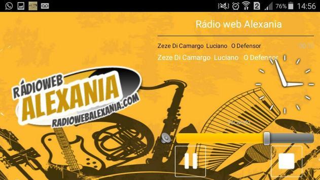 Rádio web Alexania poster