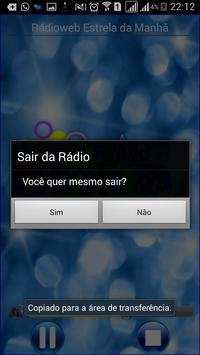 Radioweb Estrela da Manha 2016 apk screenshot