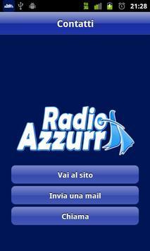 Radio Azzurra apk screenshot