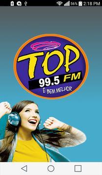 TOP FM 99.5 MHz poster
