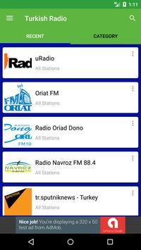 Turkish Radio Stations apk screenshot