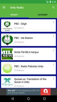 Urdu Radio Stations poster