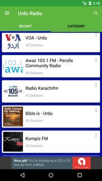 Urdu Radio Stations apk screenshot