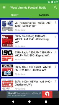 West Virginia Football Radio screenshot 1