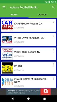 Auburn Football Radio screenshot 1