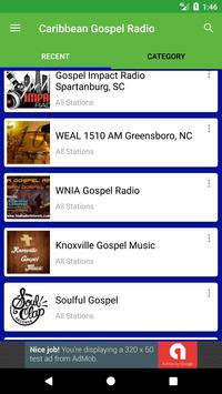 Caribbean Gospel Radio apk screenshot