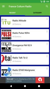 France Culture Radio apk screenshot