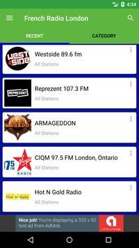 French Radio London apk screenshot