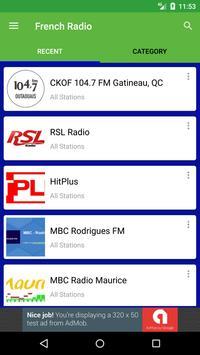 French Radio Stations apk screenshot