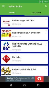 Italian Radio Stations apk screenshot