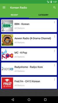Korean Radio Stations apk screenshot
