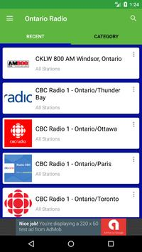 Ontario Radio Stations screenshot 1