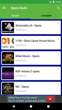 Opera Radio screenshot 1