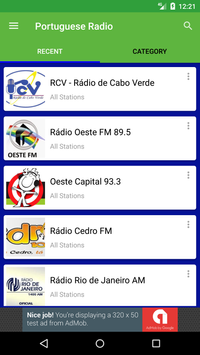 Portuguese Radio Stations screenshot 1