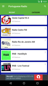 Portuguese Radio Stations screenshot 2