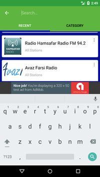 Radio Persian screenshot 4