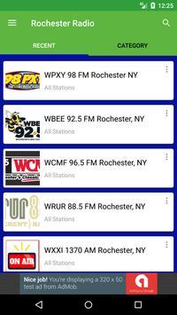 Rochester Radio Stations captura de pantalla 3