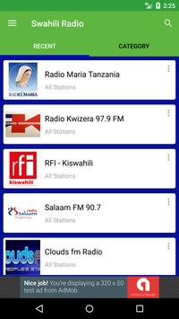 Swahili Radio apk screenshot