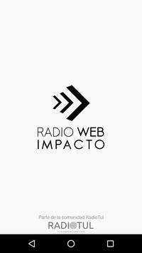 RADIOWEB IMPACTO poster