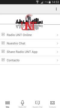 Radio UNT poster