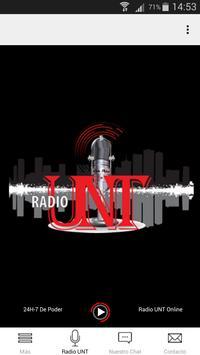 Radio UNT screenshot 1