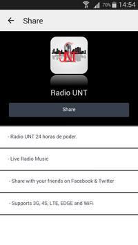 Radio UNT screenshot 2