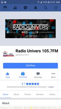 Radio Univers 105.7FM screenshot 5