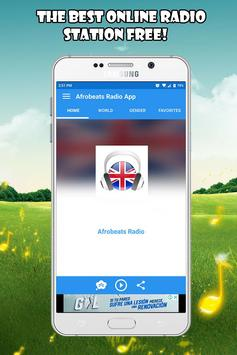 Afrobeats Radio App fm UK free listen Online poster