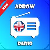 Arrow Radio UK App fm free listen Online icon